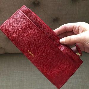 NEW Lodis Credit Card Case Zip Pocket Wallet